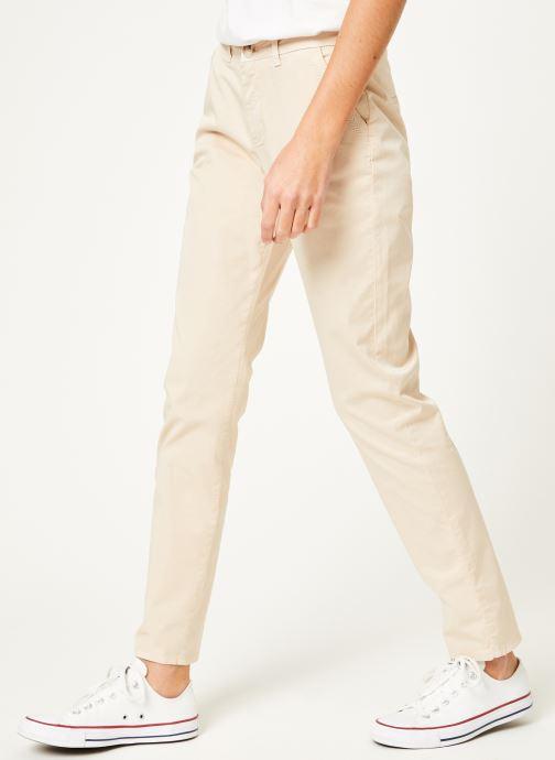 Vêtements Kanopé Pantalon dahlia toile Beige vue détail/paire