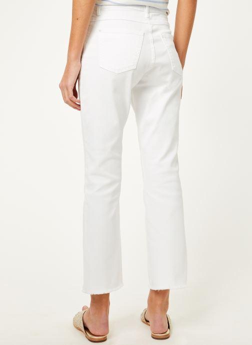 Vêtements Kanopé Pantalon maxine twill Blanc vue portées chaussures