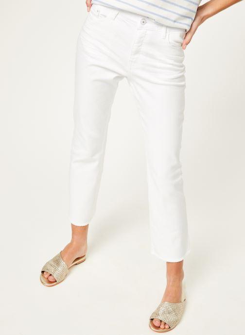 Vêtements Kanopé Pantalon maxine twill Blanc vue détail/paire
