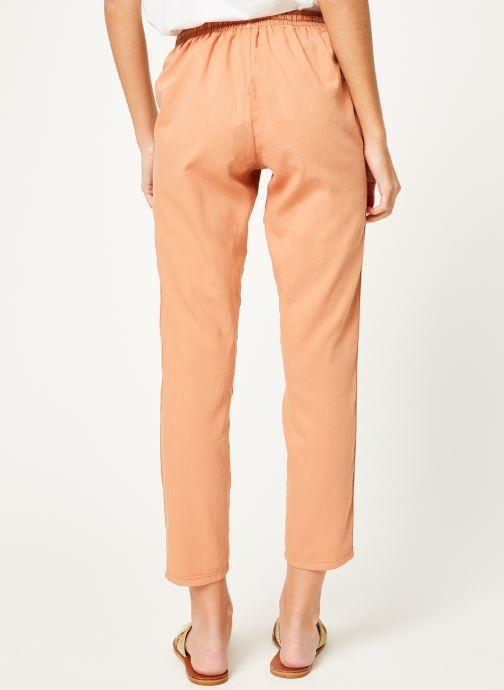 Vêtements Kanopé Pantalon celestine coton Rose vue portées chaussures