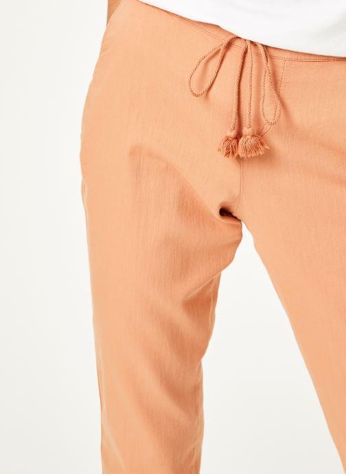 Vêtements Kanopé Pantalon celestine coton Rose vue face