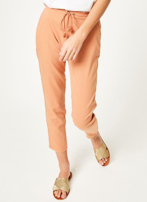 Vêtements Kanopé Pantalon celestine coton Rose vue détail/paire