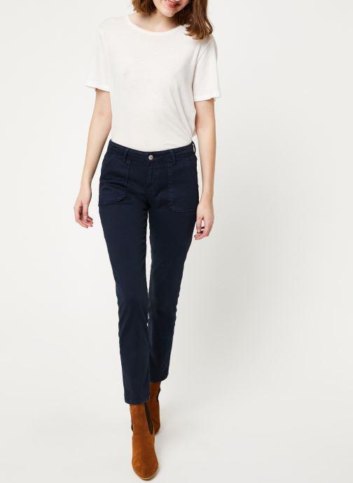 Vêtements Kanopé Pantalon carmen power Bleu vue bas / vue portée sac