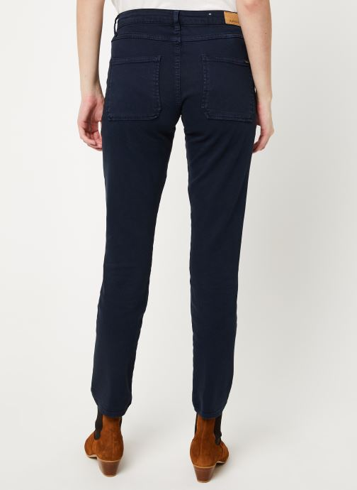Vêtements Kanopé Pantalon carmen power Bleu vue portées chaussures