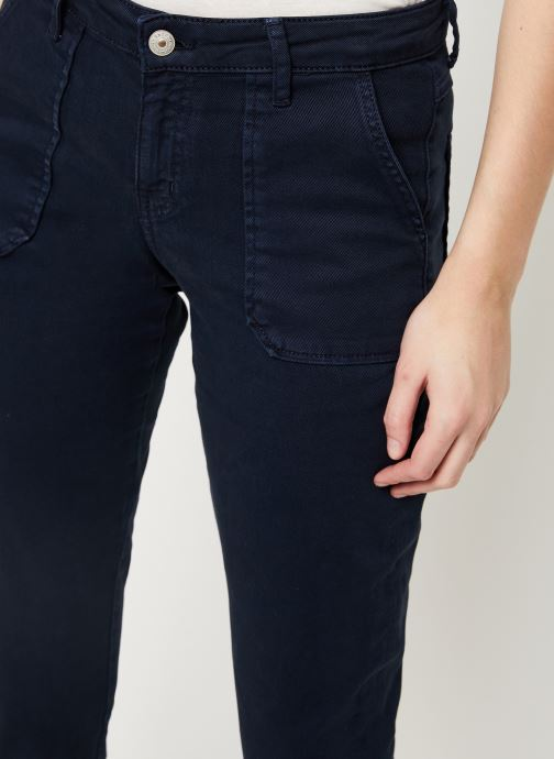 Vêtements Kanopé Pantalon carmen power Bleu vue face