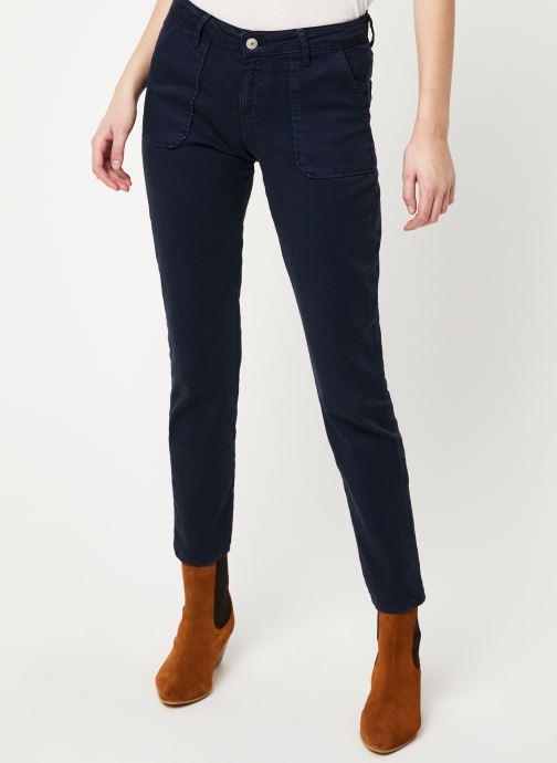 Vêtements Kanopé Pantalon carmen power Bleu vue détail/paire