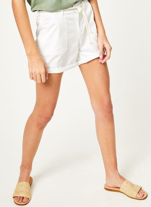 Vêtements Kanopé Short cara toile Blanc vue détail/paire