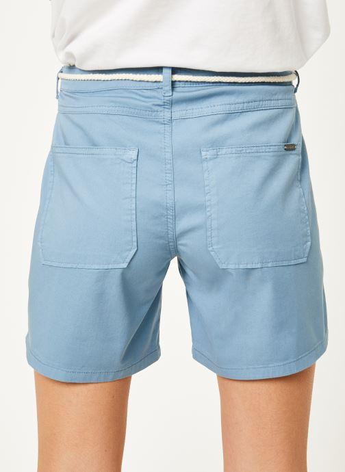 Vêtements Kanopé Short cara toile Bleu vue portées chaussures
