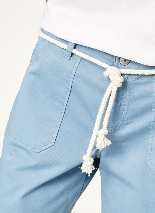 Vêtements Kanopé Short cara toile Bleu vue face
