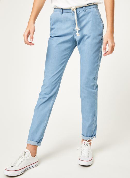 Vêtements Kanopé Pantalon dahlia denim leger Bleu vue détail/paire