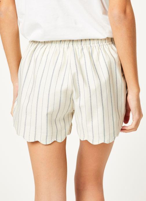 Vêtements Kanopé Short louison rayure Blanc vue portées chaussures