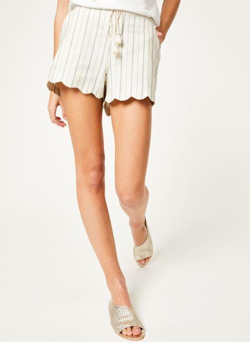 Vêtements Kanopé Short louison rayure Blanc vue détail/paire