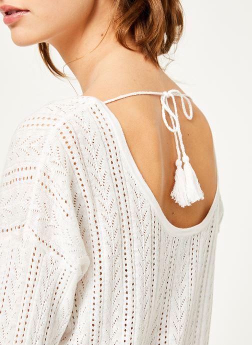 Vêtements Kanopé Pull fanny Blanc vue face