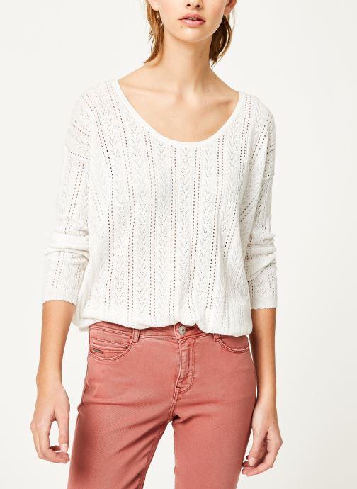 Vêtements Kanopé Pull fanny Blanc vue droite