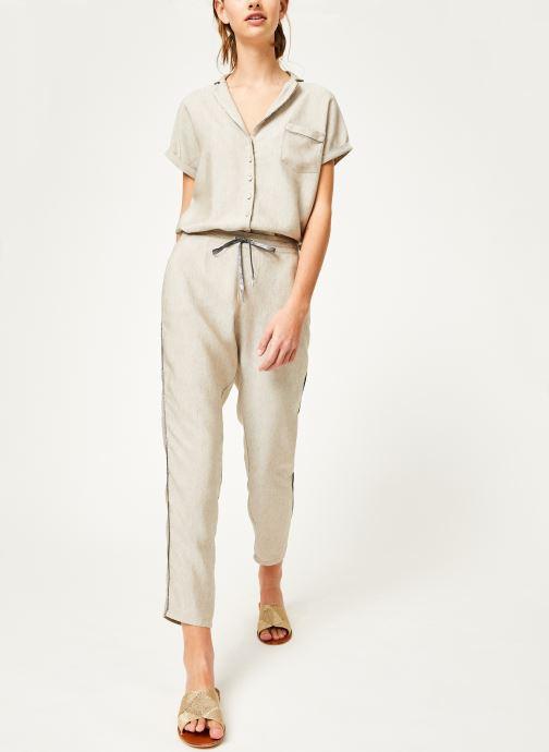 Vêtements Kanopé Pantalon celestine marrakech Beige vue bas / vue portée sac