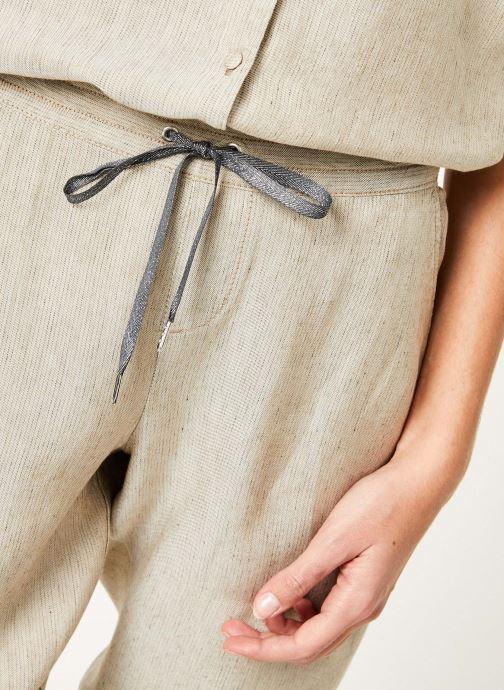 Kleding Kanopé Pantalon celestine marrakech Beige voorkant