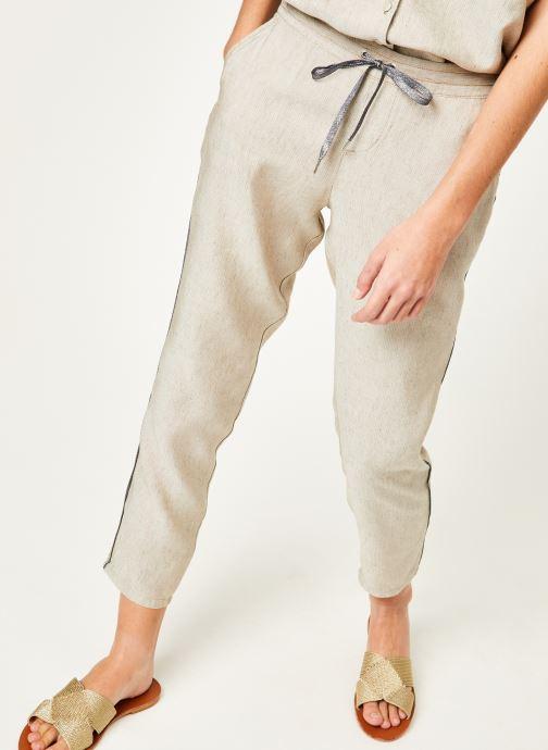 Vêtements Kanopé Pantalon celestine marrakech Beige vue détail/paire