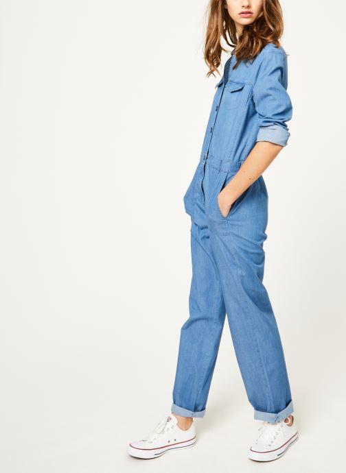 Vêtements Kanopé Combinaison colombe denim 250 Bleu vue bas / vue portée sac