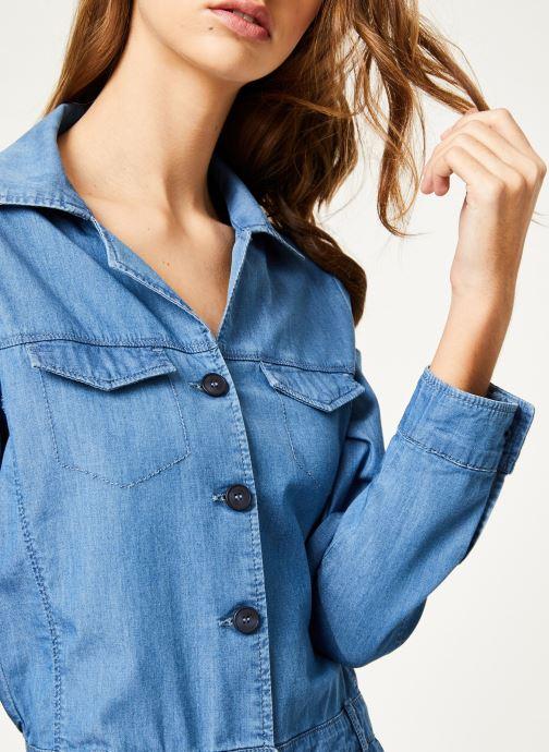 Vêtements Kanopé Combinaison colombe denim 250 Bleu vue face