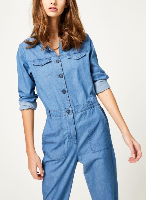 Vêtements Kanopé Combinaison colombe denim 250 Bleu vue détail/paire