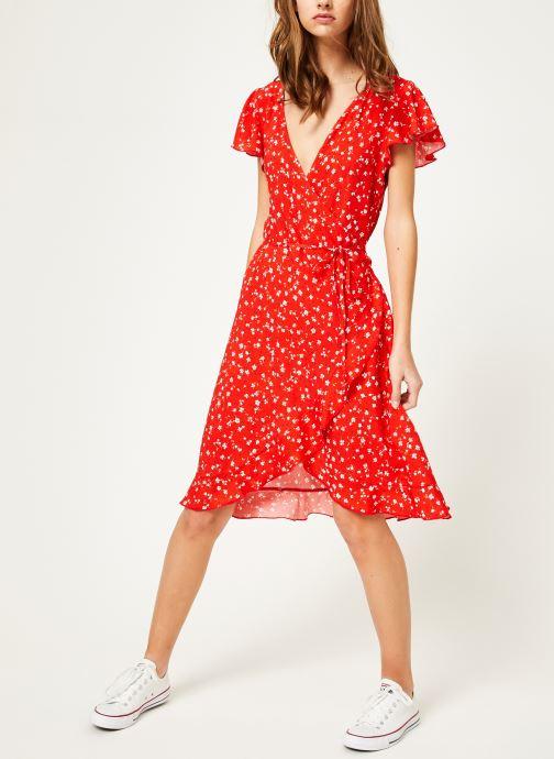 Vêtements Kanopé Robe rosalie geranium Rouge vue bas / vue portée sac