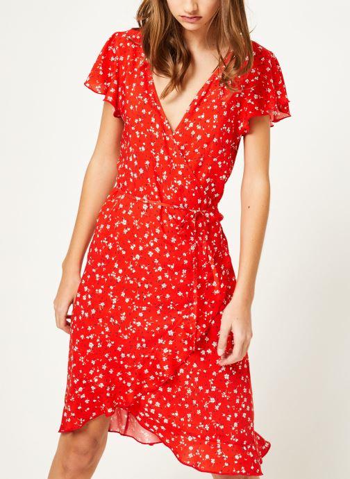 Vêtements Kanopé Robe rosalie geranium Rouge vue droite