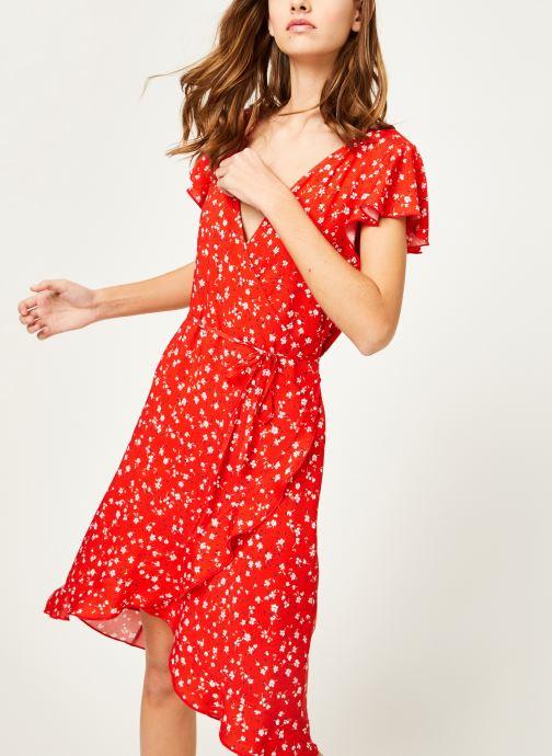 Vêtements Kanopé Robe rosalie geranium Rouge vue détail/paire