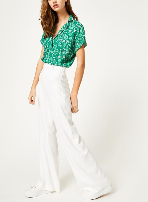 Vêtements Kanopé Chemise appoline palmier Vert vue bas / vue portée sac