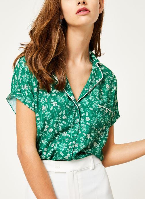 Vêtements Kanopé Chemise appoline palmier Vert vue détail/paire