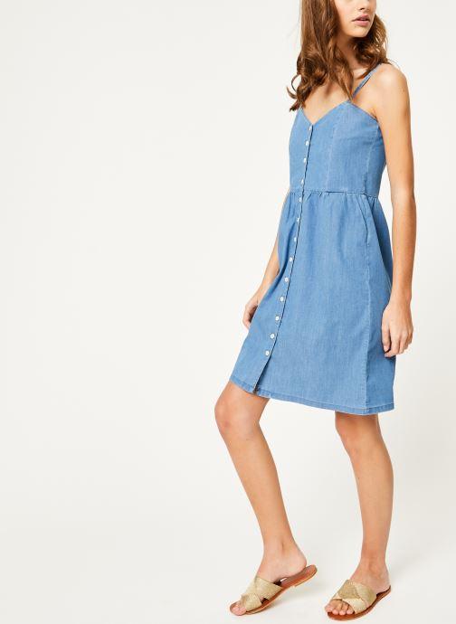 Vêtements Kanopé Robe romy denim 250 Bleu vue bas / vue portée sac