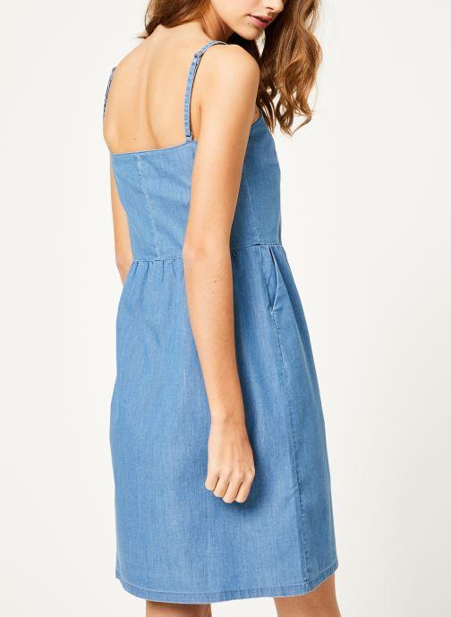 Vêtements Kanopé Robe romy denim 250 Bleu vue portées chaussures