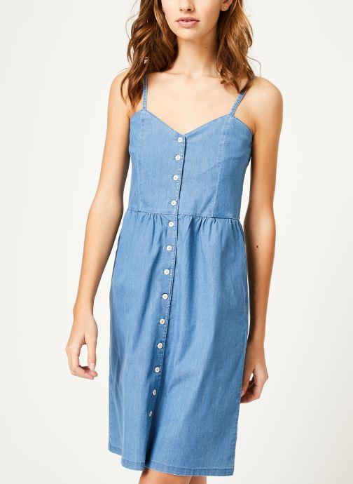 Vêtements Kanopé Robe romy denim 250 Bleu vue droite