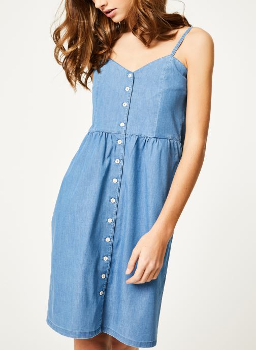 Vêtements Kanopé Robe romy denim 250 Bleu vue détail/paire