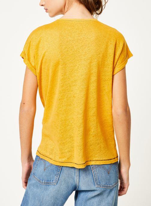Kleding Kanopé Tshirt grethel Geel model
