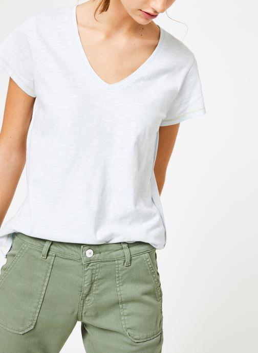 Vêtements Kanopé Tshirt guillemette Bleu vue droite