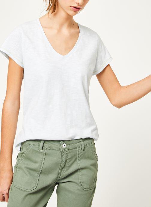 Vêtements Kanopé Tshirt guillemette Bleu vue détail/paire