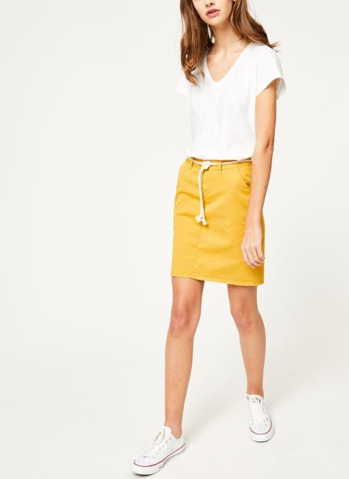 Vêtements Kanopé Tshirt guillemette Blanc vue bas / vue portée sac