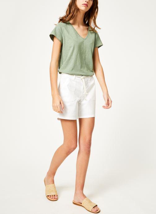 Vêtements Kanopé Tshirt guillemette Vert vue bas / vue portée sac