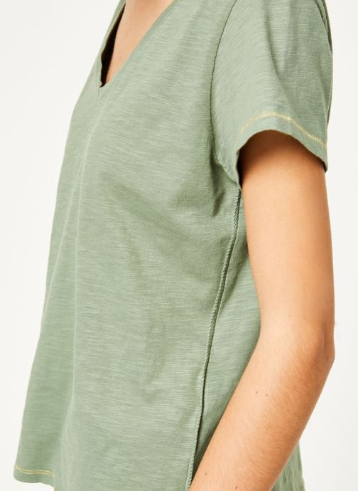 Vêtements Kanopé Tshirt guillemette Vert vue face