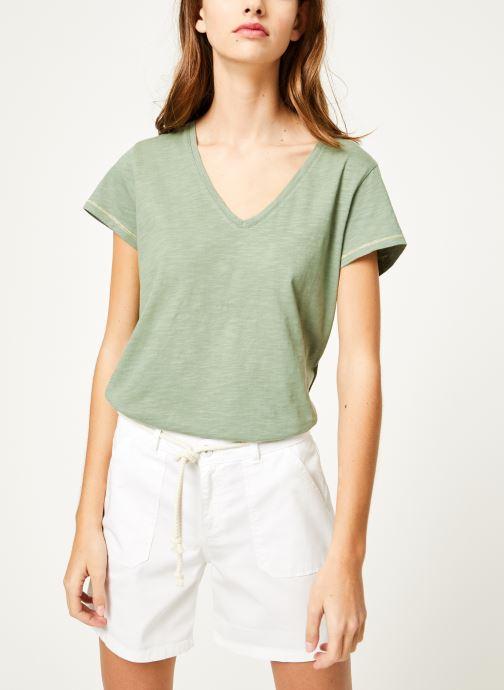 Vêtements Kanopé Tshirt guillemette Vert vue droite