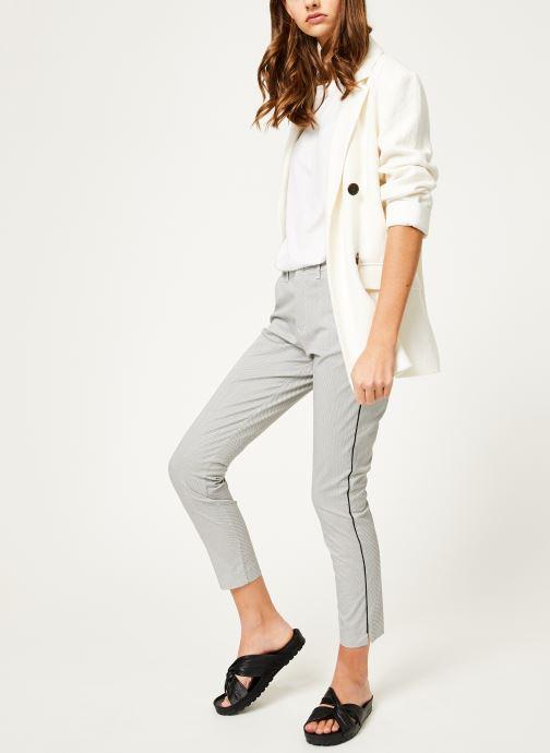 Tøj Kanopé Pantalon diane print Hvid se forneden