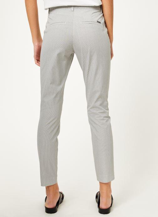 Vêtements Kanopé Pantalon diane print Blanc vue portées chaussures