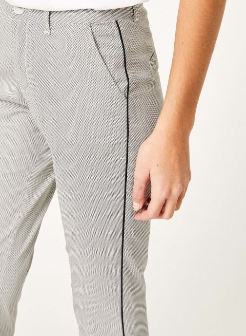 Vêtements Kanopé Pantalon diane print Blanc vue face