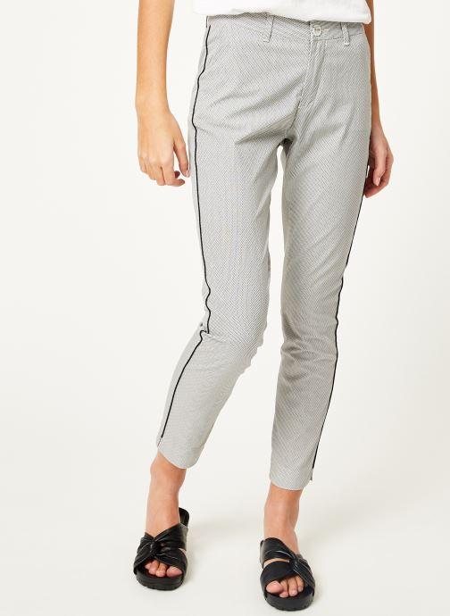 Vêtements Kanopé Pantalon diane print Blanc vue détail/paire