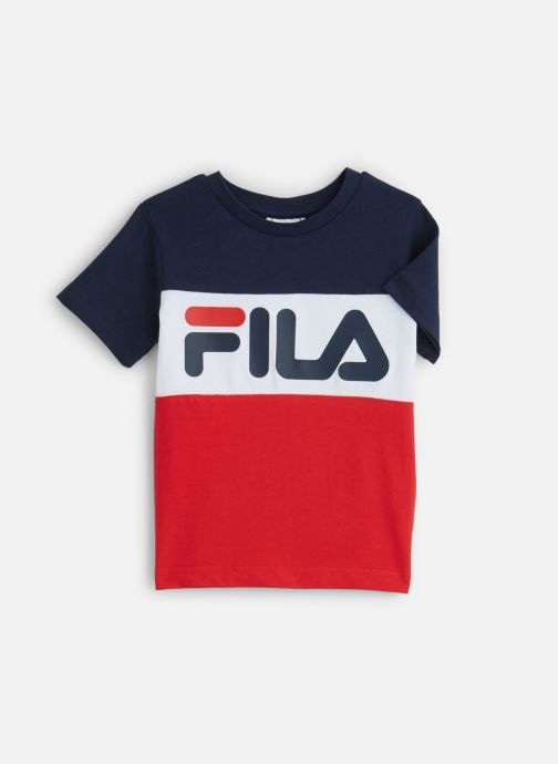 Vêtements FILA DAY Blocked Tee Rouge vue détail/paire