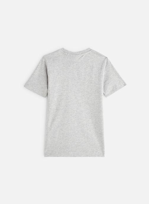Vêtements FILA CLASSIC Logo Tee Gris vue bas / vue portée sac