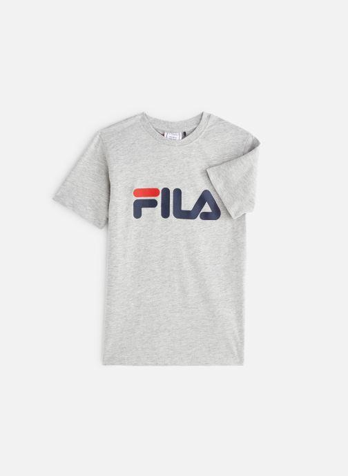 Vêtements FILA CLASSIC Logo Tee Gris vue détail/paire