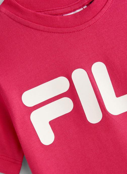 FILA T-shirt - Classic Logo Tee (Rose) - Vêtements chez Sarenza (367760) HMPjo