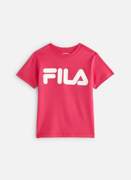 Vêtements FILA CLASSIC Logo Tee Rose vue détail/paire