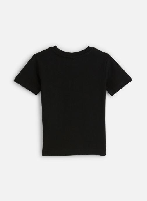 Vêtements FILA CLASSIC Logo Tee Noir vue bas / vue portée sac